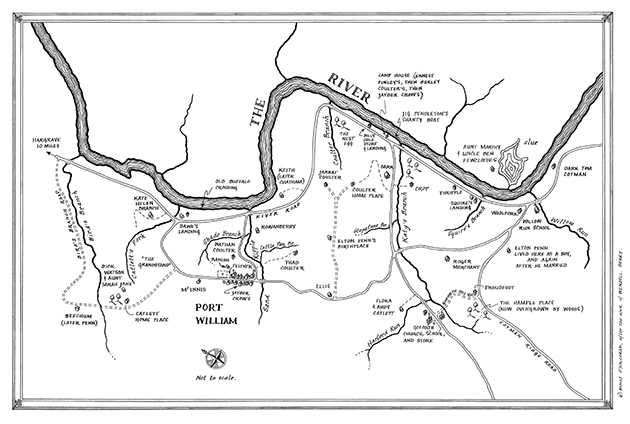 First gig: map for Wendell Berry